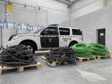 Detenidas tres personas por un robo en una empresa de Tarancón