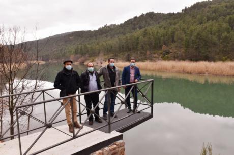 La Diputación colabora con 163.000 euros en la mejora del acceso al embalse Molino de Chincha en Puente de Vadillos