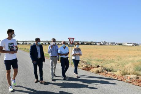 La Diputación invierte más de 52.000 euros en un camino de Motilla para propiciar el crecimiento industrial de la Manchuela