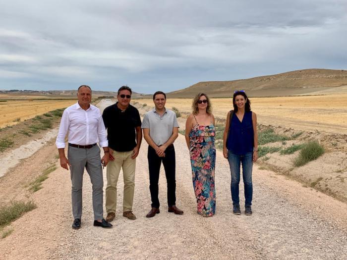 Diputación y Junta recepcionan caminos en Tarancón y Las Pedroñeras
