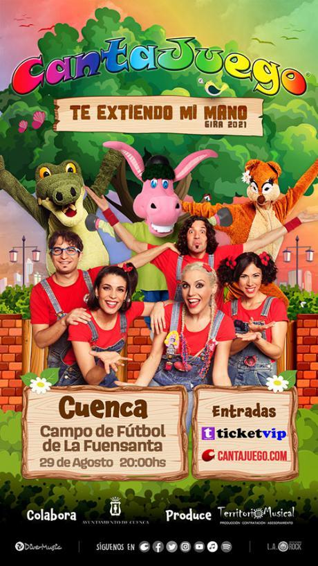 Los CantaJuego actuarán en Cuenca el próximo 29 de agosto