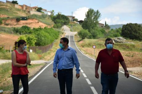 Diputación ha invertido en carreteras un total de 3,7 millones de euros para arreglar más de 55 kilómetros en el último año
