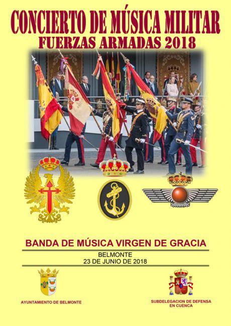 Concierto de música militar en Belmonte