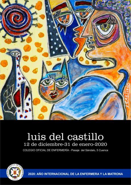 El Colegio de Enfermería de Cuenca continua con el proyecto de exposiciones artísticas en la Sede Colegial