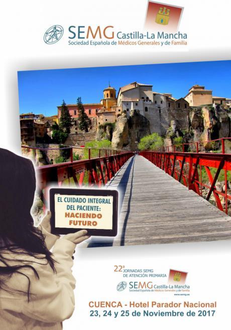 El cuidado integral del paciente reunirá del 23 al 25 de noviembre en Cuenca a médicos de familia y enfermería