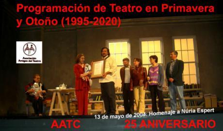 Comienza la 25 Programación de Teatro en Primavera 2020 de la AATC en su 49 Aniversario