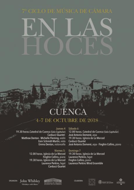 Arranca el VII Ciclo de Música de Cámara 'En las hoces'