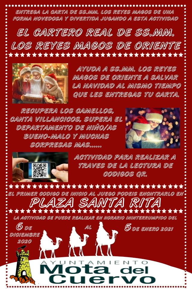 El Ayuntamiento de Mota prepara una Navidad diferente