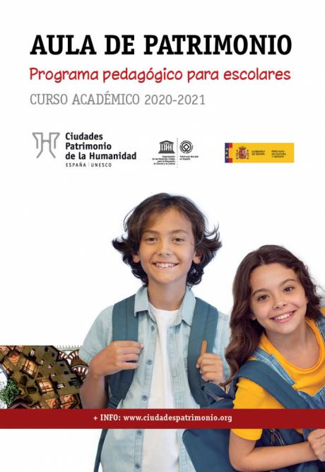 El Grupo de Ciudades Patrimonio convoca la octava edición de su programa pedagógico para escolares 'Aula de Patrimonio'