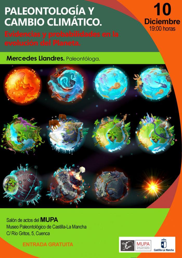 El MUPA acoge una conferencia sobre paleontología y cambio climático con motivo de la Cumbre del Clima