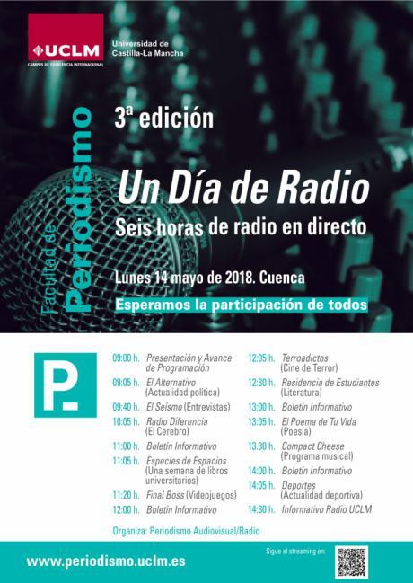 Por tercer año consecutivo, los estudiantes de Periodismo se enfrentan a seis horas de radio en directo para celebrar Un Día de Radio