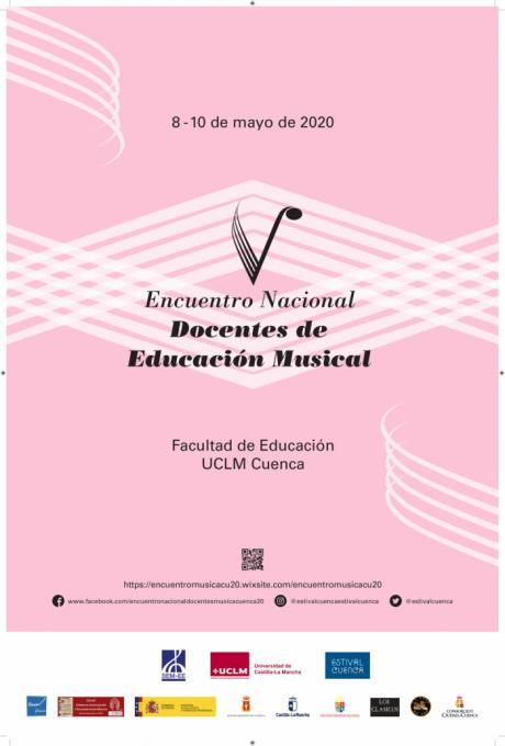 La Facultad de Educación acogerá el V Encuentro Nacional de Docentes de Música entre el 8 y el 10 de mayo de 2020