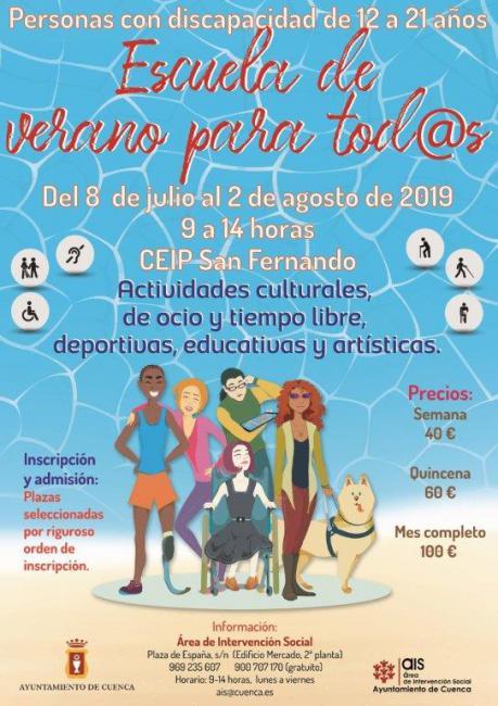 Actividades culturales, educativas y de ocio en la 'Escuela de Verano para tod@s' del AIS