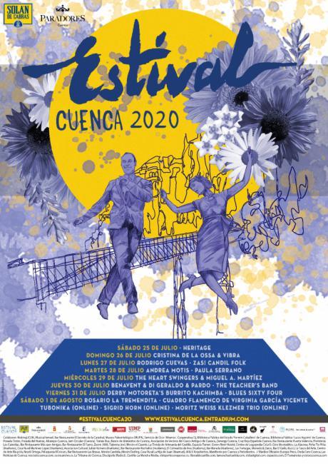 ESTIVAL Cuenca 2020 se celebrará entre el sábado 25 de julio y el sábado 1 de agosto