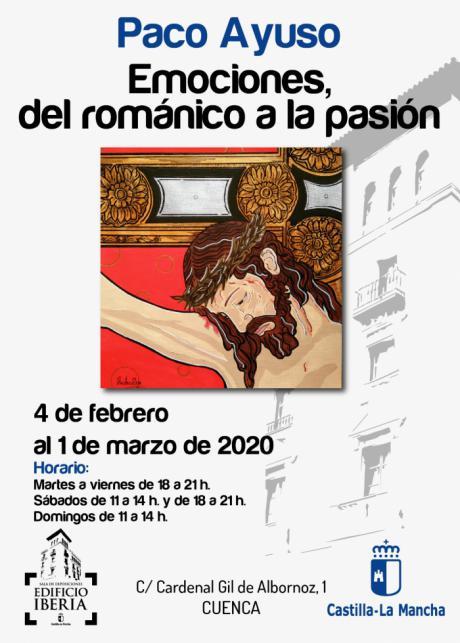 La Sala Iberia acoge la exposición ´Emociones, del romántico a la pasión´ del autor Paco Ayuso