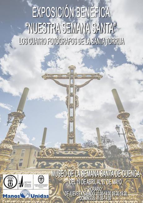 El Museo acoge la muestra 'Nuestra Semana Santa. Los cuatro fotógrafos de La Santa Torrija', a beneficio de Manos Unidas
