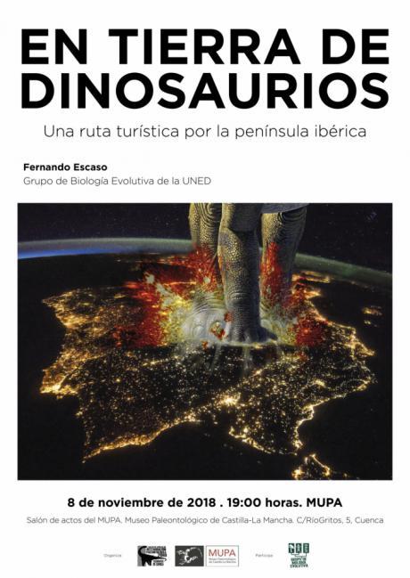 El Museo de Paleontología acoge una conferencia sobre el registro de dinosaurios de la Península Ibérica