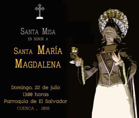 La V. H. del Santísimo Cristo de la Luz celebra este domingo su Función en honor a María Magdalena