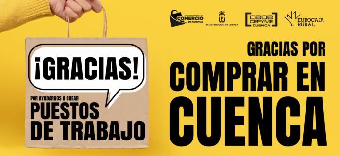 La Asociación de Comercio lanza una campaña de agradecimiento al consumidor por elegir el comercio local