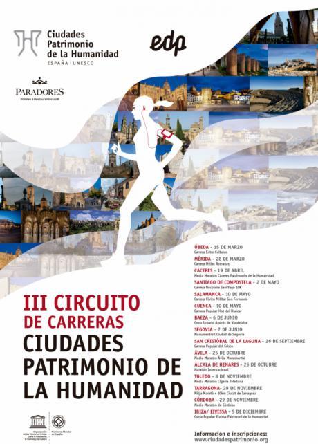 La carrera 'Hoz del Huécar', cita en Cuenca del III Circuito 'Ciudades Patrimonio de la Humanidad'