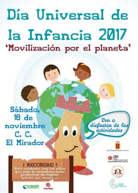 El Día de la Infancia se celebra mañana en El Mirador con actividades para concienciar sobre el cambio climático