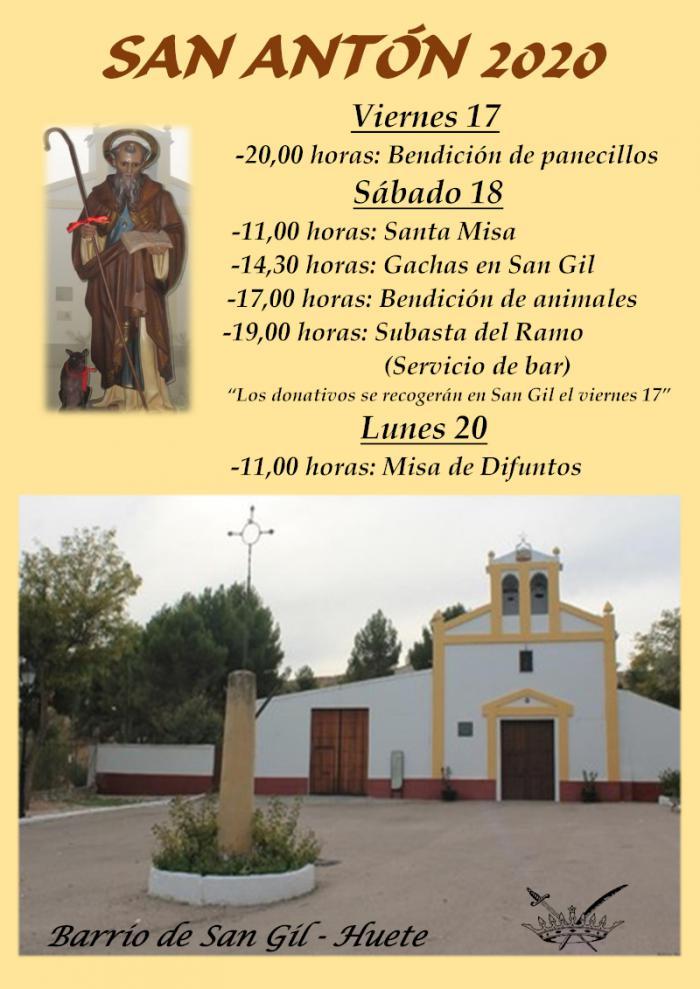 El barrio de San Gil en Huete se prepara para celebrar la festividad de San Antón