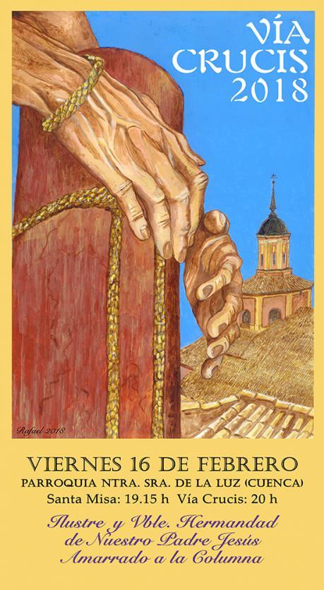 Rafael Pérez Caballero anuncia el Vía Crucis del Amarrado
