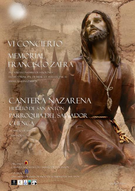 """La Cantera Nazarena celebra el próximo 16 de marzo el VI Concierto """"Memorial Francisco Zafra"""""""