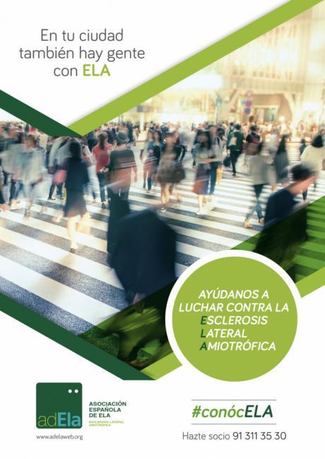 Cada 8 horas, 1 persona es diagnosticada de ELA en España