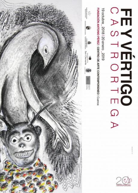 La Fundación Antonio Pérez recibe al pintor ciudadrealeño Pedro Castrortega