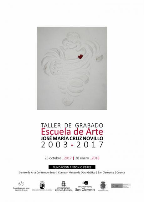 """Este jueves se inaugura la exposición """"Taller de Grabado· Escuela de Arte José María Cruz Novillo· 2003-2017"""""""