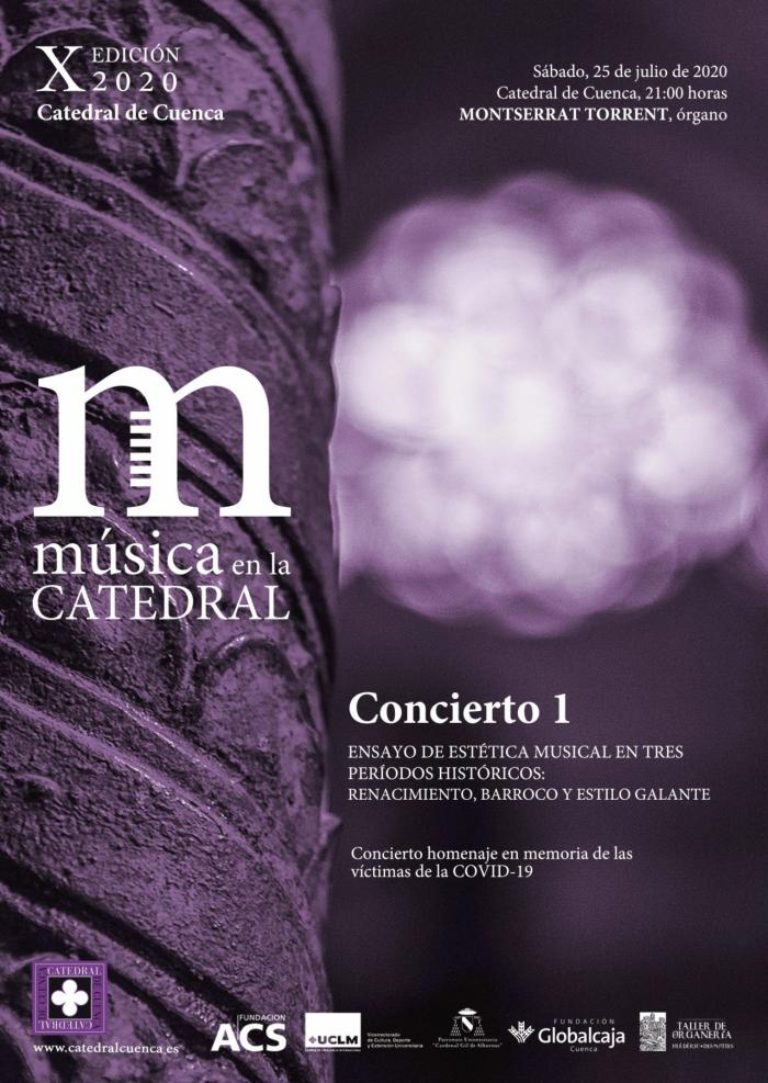 La Gran Dama del órgano español, Montserrat Torrent, inaugura la X Edición 2020 de 'Música en la Catedral'