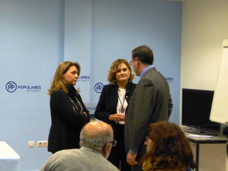 Susana Camarero destaca el impulso del PP al Pacto de Estado contra la Violencia de Género y su compromiso con las víctimas más débiles