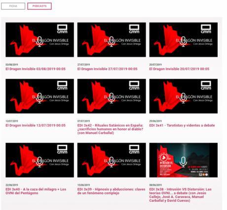 """Un programa de misterio de CMM Radio, """"El dragón invisible"""", en el ránking de los más escuchados en la plataforma Ivoox"""
