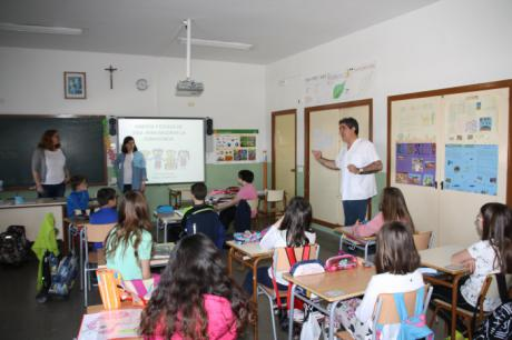 La Junta promueve hábitos y estilos de vida saludables entre los escolares conquenses