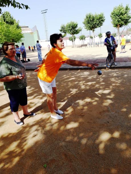 La competición de Juegos y Deportes Tradicionales hace parada en Las Pedroñeras
