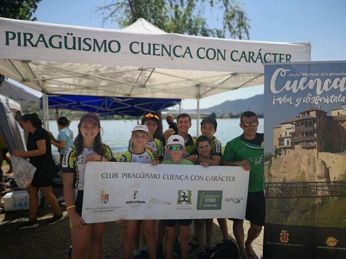 El Club Piragüismo Cuenca con Carácter participa Copa España Jóvenes Promesas 3000m.