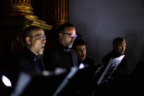 La música y la pintura narraron La Pasión en 'El Último Renacentista' del Coro de Cámara Alonso Lobo