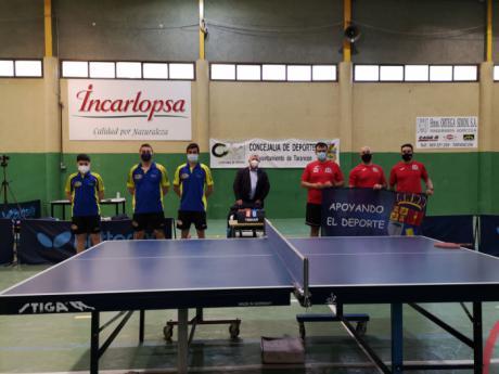El Club Tenis de Mesa Cuenca saca un punto en sus dos primeros encuentros.