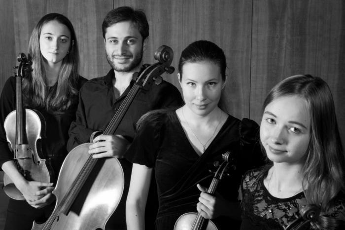 El Cuarteto Mendelssohn actuará el domingo en la iglesia de San Miguel dentro del V Ciclo de Música de Cámara