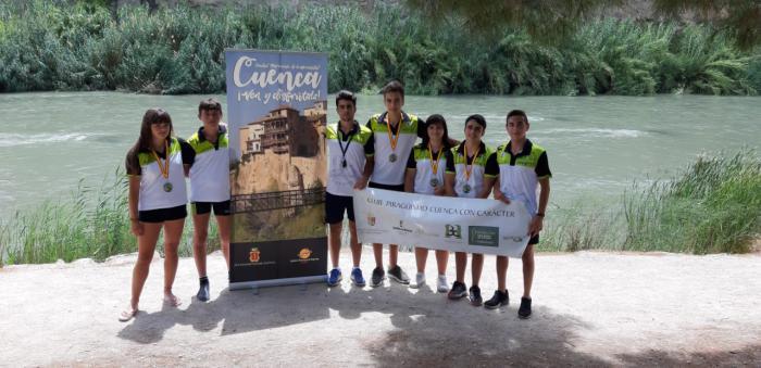 El Club Piragüismo Cuenca con Carácter participa en el XXX Descenso Nacional del Río Segura