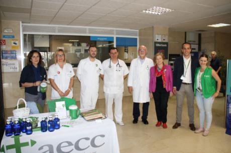 La Gerencia del Área Integrada de Cuenca se suma a la AECC en su cuestación anual de apoyo a las personas enfermas de cáncer