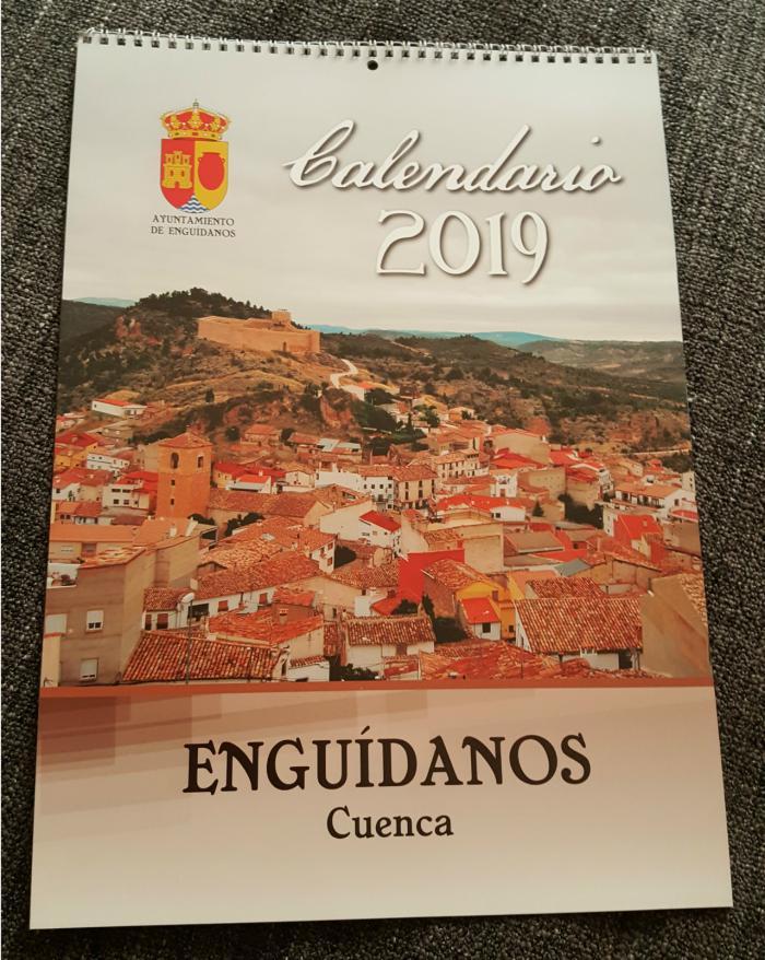El Ayuntamiento de Enguídanos edita el Calendario Solidario de 2019