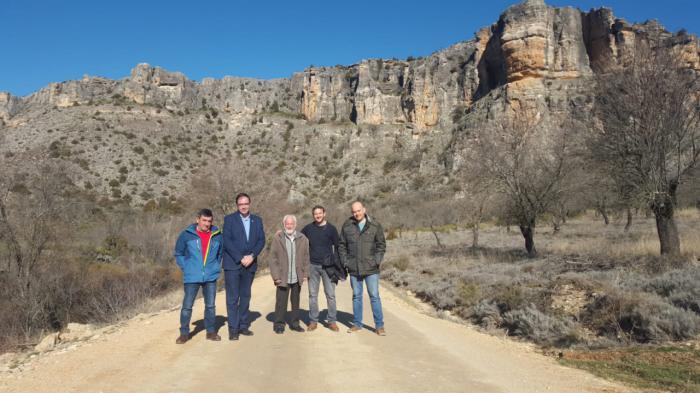 Junta y la Diputación invierten 148.000 euros en acondicionar seis caminos rurales en cuatro localidades