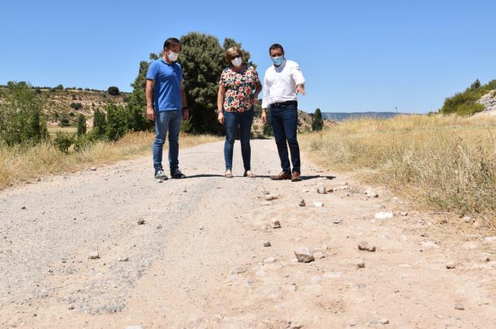 La Diputación tiene un presupuesto de 385.000 euros para actuar en el camino que une Castejón y Cañaveruelas