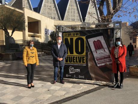 Arranca la campaña para promover la compra en Cuenca con el lema 'Lo que se va no vuelve'