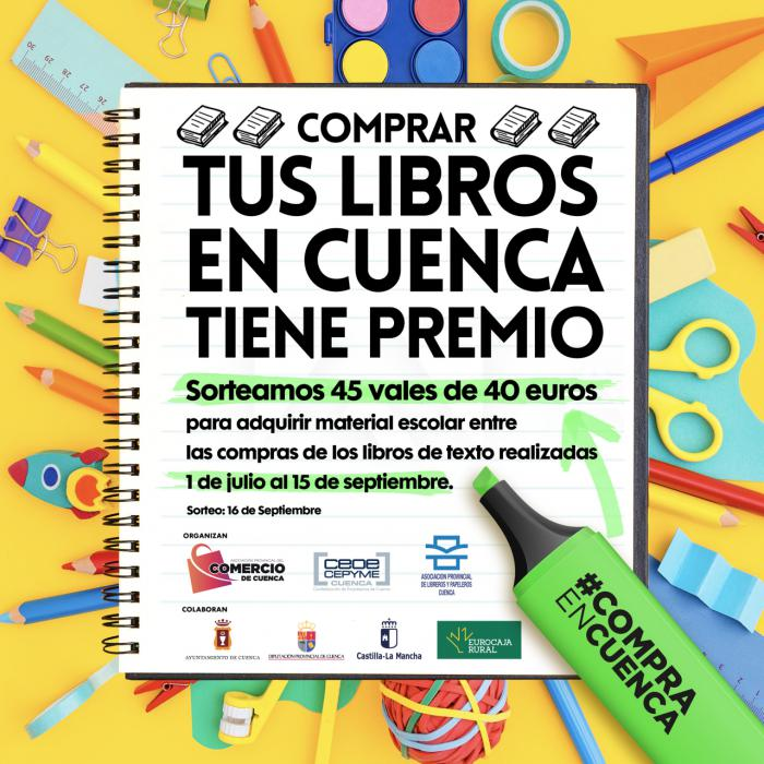 La Asociación de Libreros premia la fidelidad de sus clientes en la adquisición de libros de texto