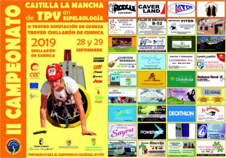 II Campeonato Nacional de TPV en Espeleología de Castilla La Mancha en Chillarón