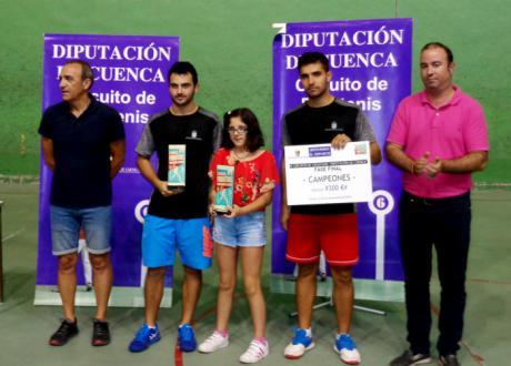 Samuel Carrasco y Daniel Hervás, ganadores del XI Circuito de Frontenis Diputación de Cuenca