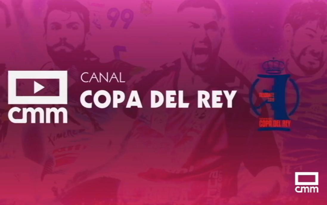 """CMM emitirá todos los partidos de la Copa del Rey de balonmano en su canal """"Copa del Rey"""" de CMMPlay"""